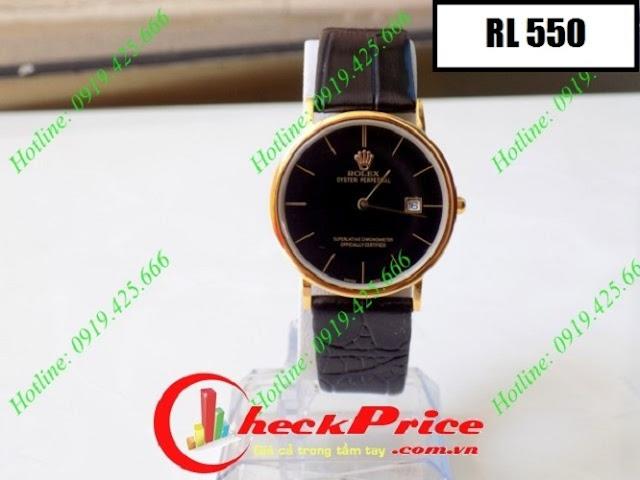 Đồng hồ dây da Rolex 550
