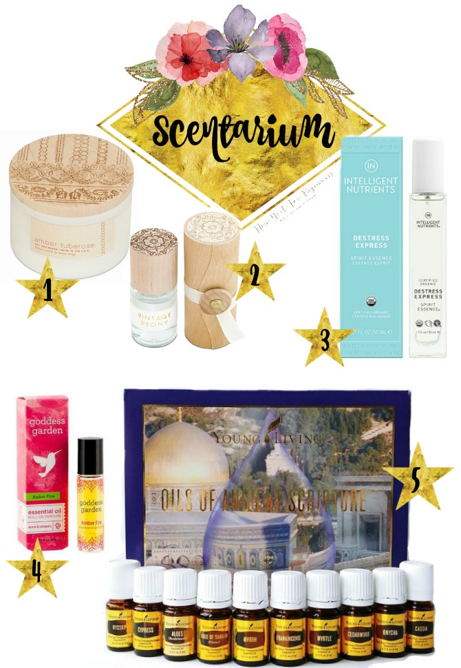 Scentarium with 10 fragrance holiday 2017 gift ideas