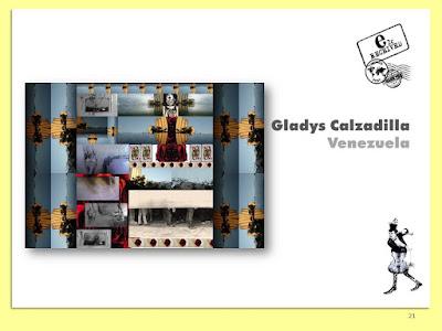 Gladys Calzadilla, La última Carta, Collage Digital, Arte Postal, Espacio 2C, Exposición Colectiva #CadaverExquisito #MailArt en #sanmigueldearbona #BacosSanMiguel Tenerife