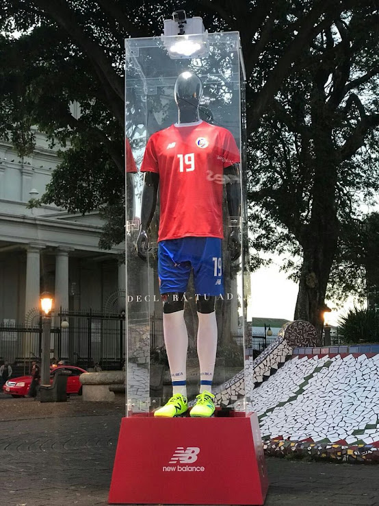 fd93a787ac4 Costa Rica 2018 World Cup Home   Away Kits Released - Footy Headlines