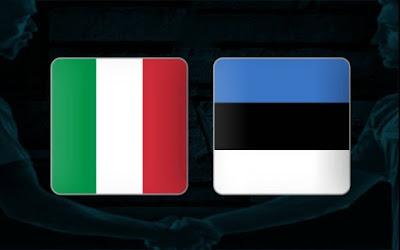 مشاهدة مباراة ايطاليا ضد استونيا اليوم 11-11-2020 بث مباشر في مباراة ودية