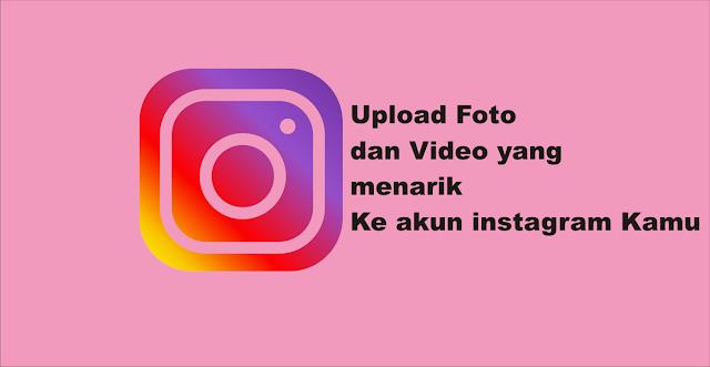 Cara Upload Foto / Video di Instagram Lewat PC