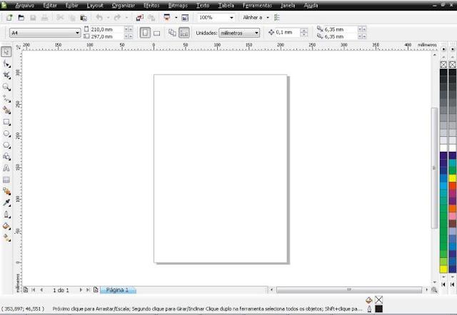 Como usar o Corel Draw