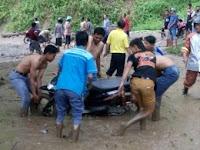 Hujan Deras, Jalur Ponorogo-Pacitan Tertutup Tanah Longsor