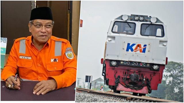 PT KAI Rugi Rp312 Miliar, Fahmi Alkatiri: Doa Komisaris Said Aqil Kurang Makbul