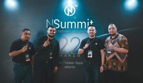 Pengarah Urusan NCIG Malaysia dan Indonesia pada Majlis Perasmian NCIG di Balai Kartini, Indonesia
