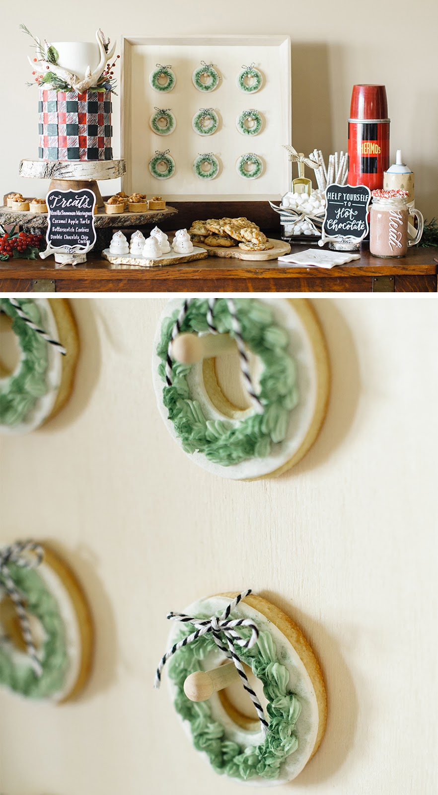 sweet DIY - display board for donuts and cookies | Lorrie Everitt Studio