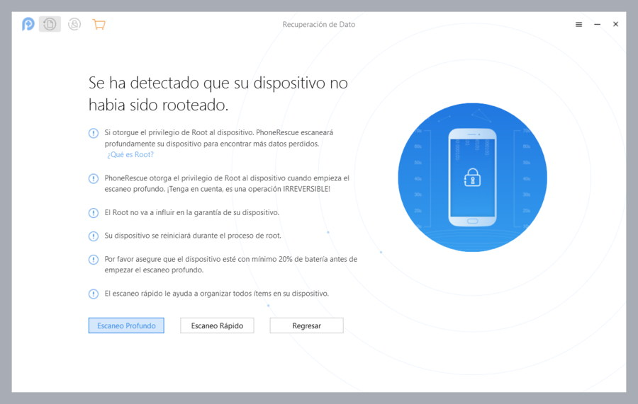 PhoneRescue Rootear Android