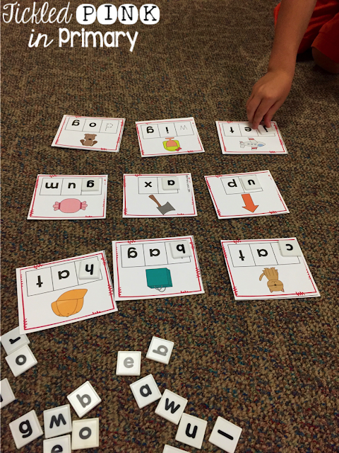 Teaching Beginning Sounds - Building Words