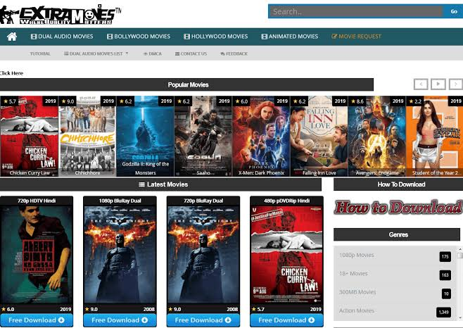 Extramovies-2021:Top 20 similar sites to watch movies online