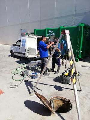 mantenimiento alcantarillado Valencia