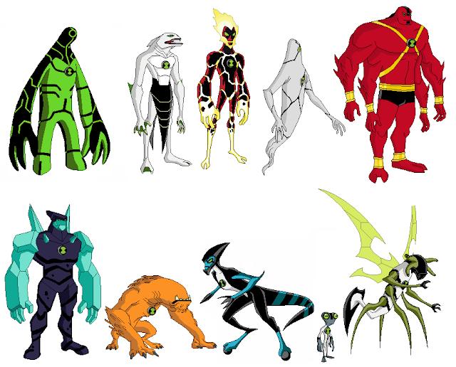 Ben 10 Game Characters