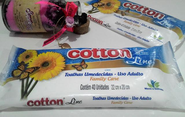 Cotton Line, Resenha, Parceria, Publidica, Toalhinhas Umedecidas, Saúde, Higiene, Higie Topp, Sem álcool, com suave fragrância, dermatologicamente testadas,