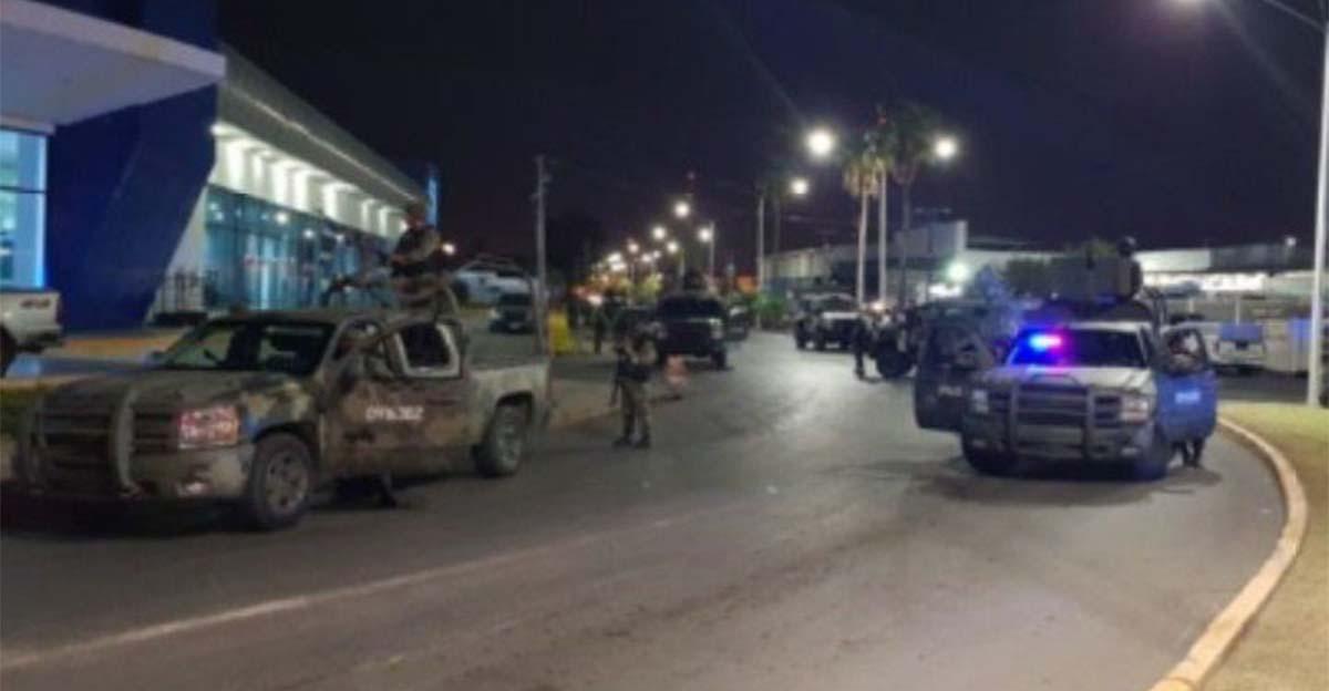 Sujetos en estado de ebriedad son baleados por el Ejército, al rebasar convoy Militar en Nuevo Laredo.