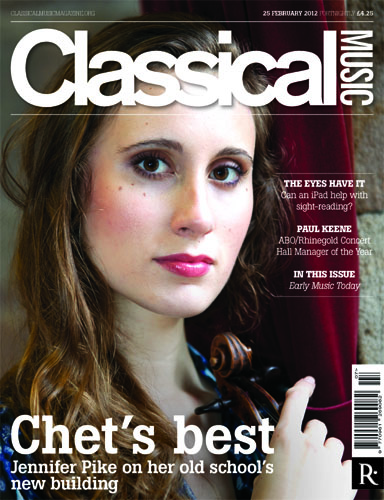JDCMB: SPECIAL OFFER FOR JDCMB READERS, from CLASSICAL MUSIC MAGAZINE
