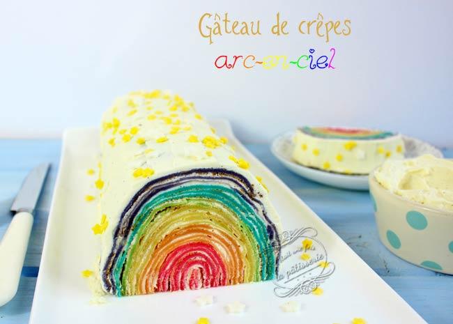 gâteau de crêpes facile