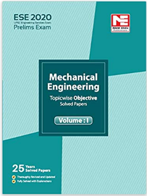 ESE 2020 Preliminary Exam: Mechanical Engineering Objective Paper - Vol. 1