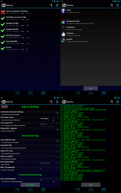 Android Reaver App, Hack wifi via android mudah