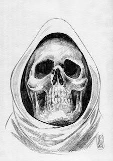 Captain Death par Alexis Bacci crayon