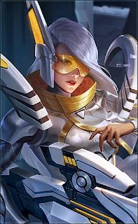 Lesley Stellaris Ghost Heroes Marksman Assassin of Skins V2