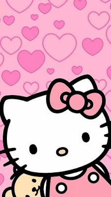 Gambar hello kitty lucu dan imut