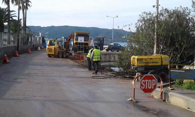 Ερμιονίδα: Ξεκίνησαν έργα στο πορθμείο της Κόστα