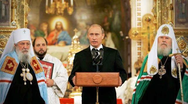 O cristianismo é promovido enquanto instrumento de domínio político