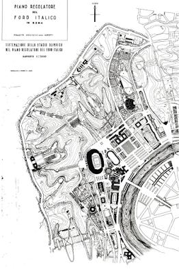 Luigi Moretti Foro Italico Mappa