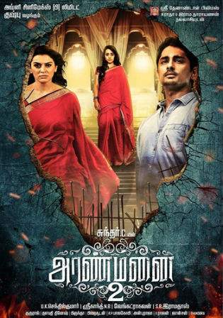 Aranmanai 2 (2016) HDTV Hindi 720p UNCUT Dual Audio 1.1Gb Watch Online Full Movie Download bolly4u