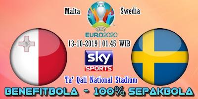 Prediksi Malta vs Swedia – 13 Oktober 2019