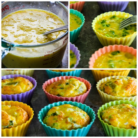 Kalyn's Kitchen®: Low-Carb Green Chile and Cheese Egg Muffins