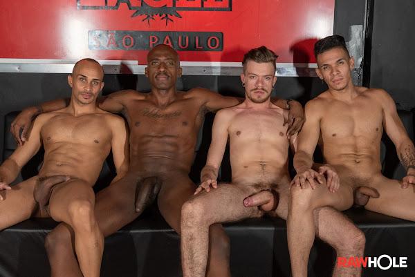 #RawHole - Raw Orgy In Brazil
