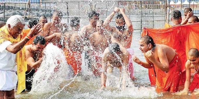 3 day's Kumbh Mela at T Narasipura saw lakhs of devotees gathering the place to take a holy dip in Triveni Sangam on Sunday
