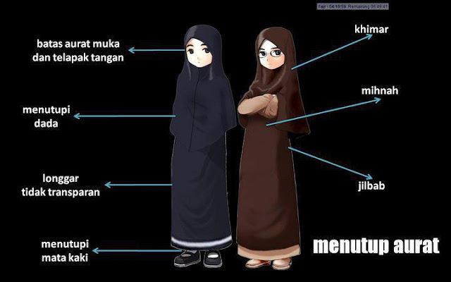9 Kriteria dan Syarat Jilbab Syar'i yang WAJIB Diketahui Setiap Wanita Muslimah
