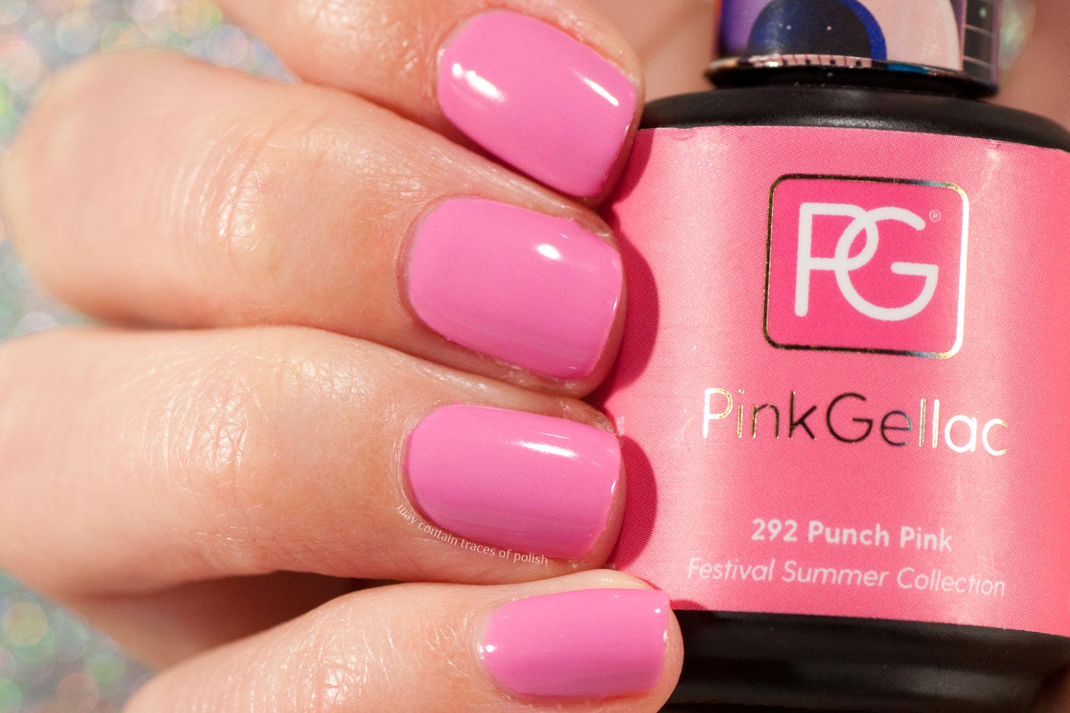 Pink Gellac 292 Punch Pink