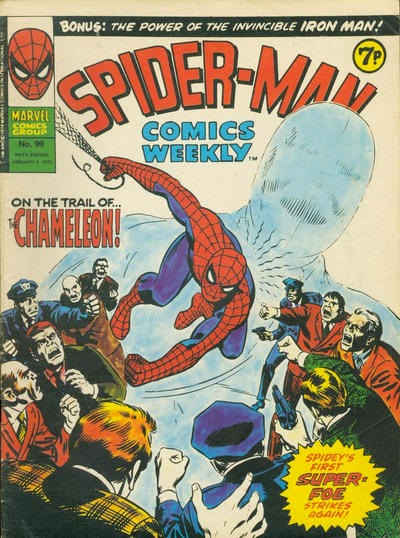 Spider-Man Comics Weekly, #99, the Chameleon