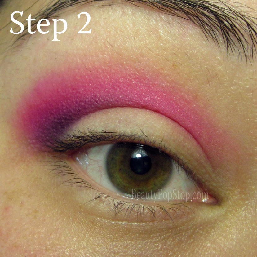 valentine's day makeup tutoria using mac cosmetics and sugarpill dollipop