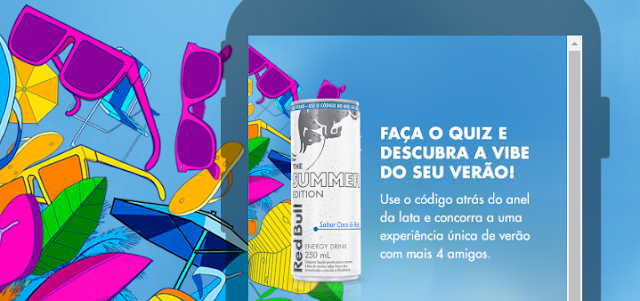 """Promoção """"Red Bull Asas para o meu Verão"""" Blog Top da Promoção #topdapromocao @topdapromocao #AsasProMeuVerão #RedBull Red Bull Coco e açaí"""