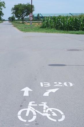 autriche burgenland lac neusiedl neusiedlersee podersdorf vélo circuit b20