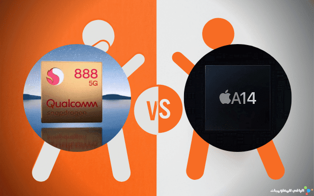 Apple Bionic A14 VS Qualcomm Snapdragon 888