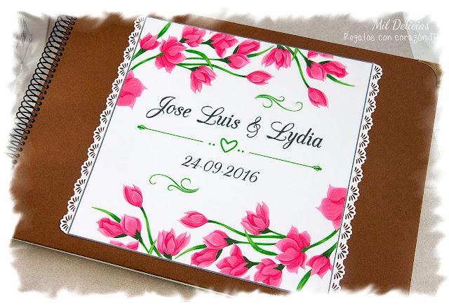 Libro de firmas boda