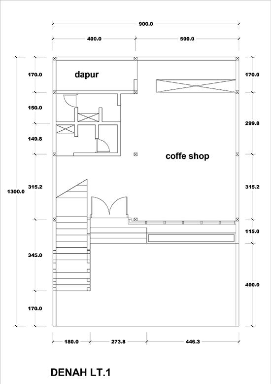 Contoh Denah Rumah Kantor  bathroom voyeur e desain kantor lantai 2