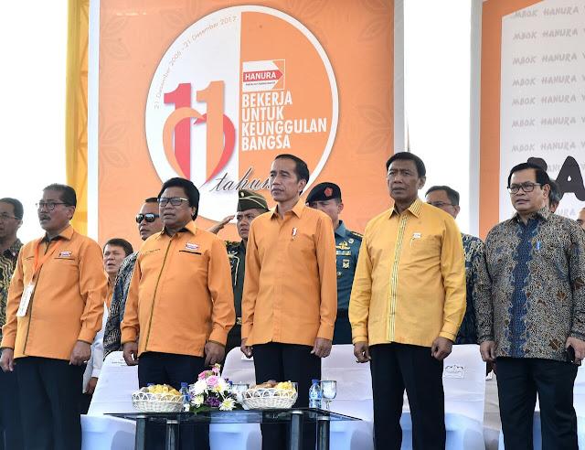Jelang Tahun Politik, Presiden Minta Semua Organisasi Parpol Solid dan Kompak
