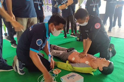 Dalam Rangka HUT Lobar Ke 63 Dan HUT RSUD Tripat,Team Code Blue RSUD Selenggarakan Training Basic Support