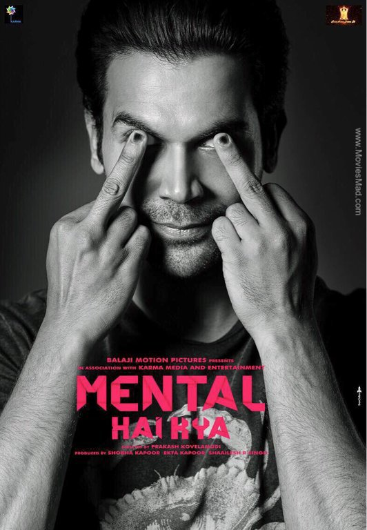 Mental Hai Kya Official Poster