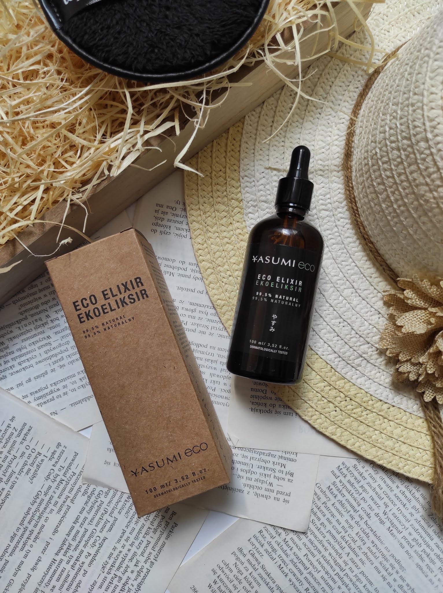 Eco Elixir Yasumi - olejek do pielęgnacji twarzy, ciała i włosów - Topestetic