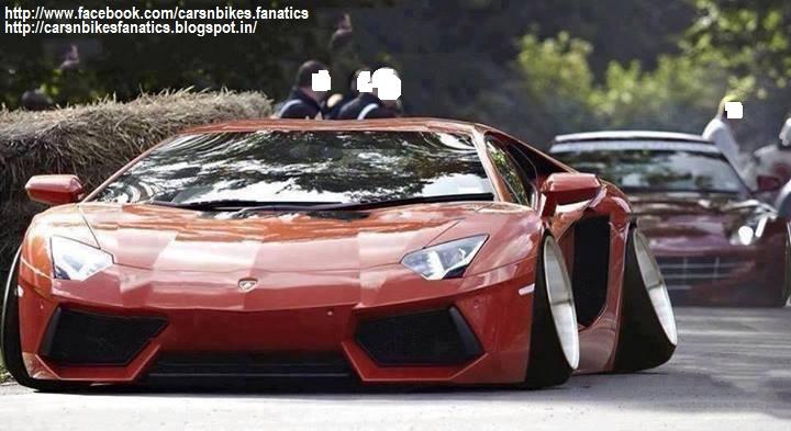 Car Bike Fanatics Modified Lamborghini Aventador With A Ferrari