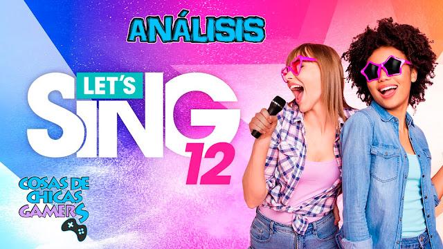 Análisis Let's Sing 12 para PS4