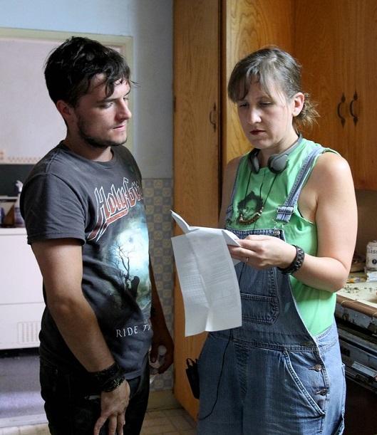 "VJBrendan com: Josh Hutcherson on Set of ""The Rusted"" in Piru, Calif"