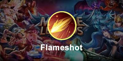 Spell Pharsa Flameshot tersakit